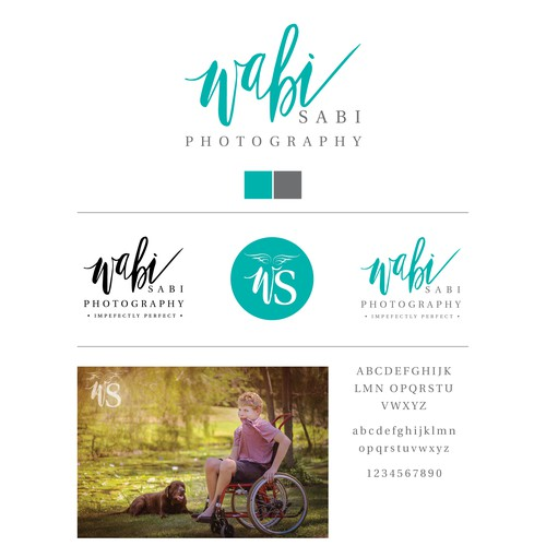 Create a logo that captures photography for special needs individuals and families