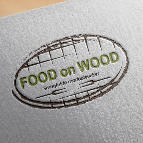 Food on wood