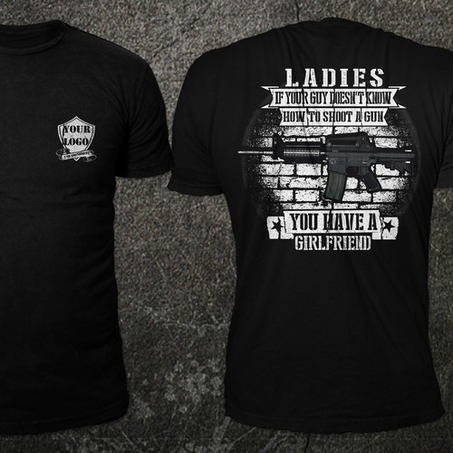 Need Tshirt Designed in Gun and 2nd Amendment Theme