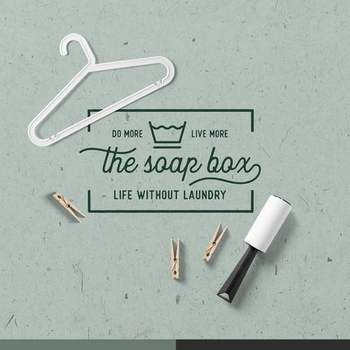 The Soap Box Logo.