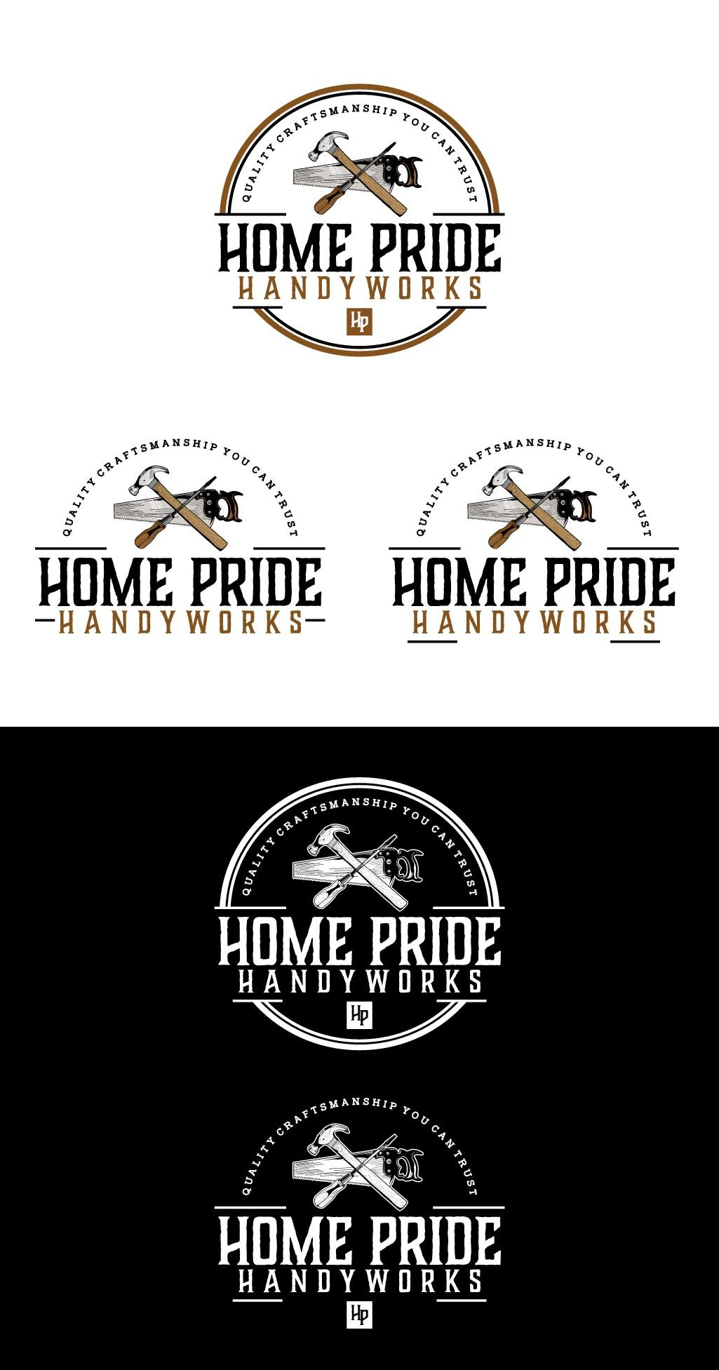 Design a vintage logo for a good old fashioned handyman business