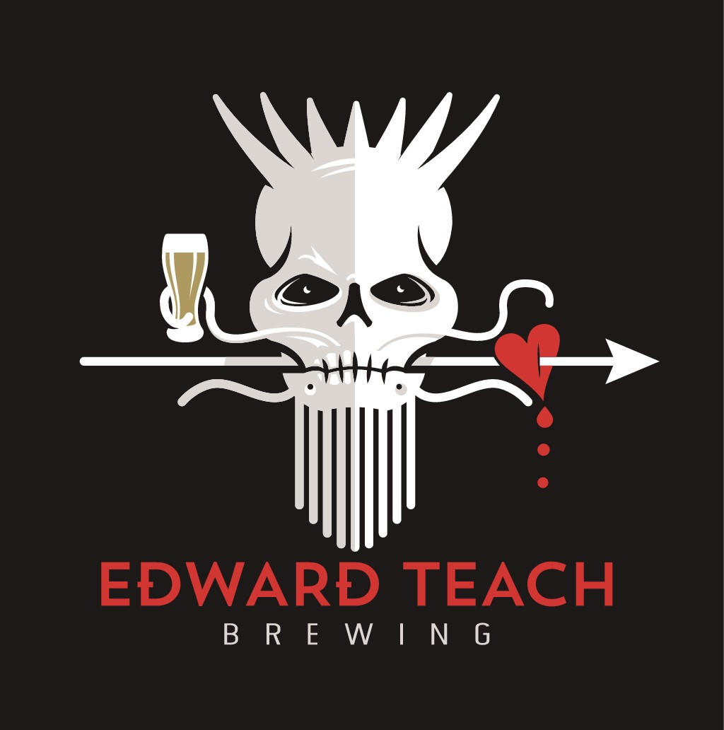 Design a Logo for a New Craft Beer Company Based on Blackbeard's flag