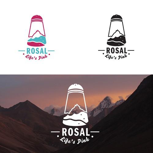 Logo for a Pink Himalayan Salt brand