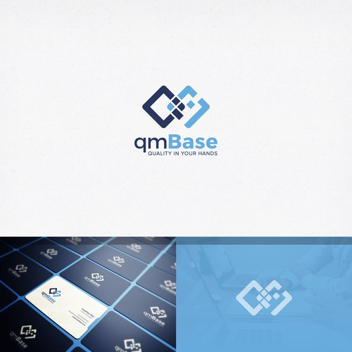 Logo for a SaaS Company revolutionizing the way SMBs manage their quality