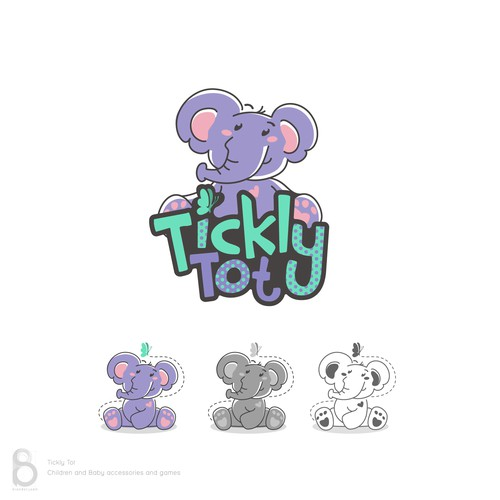 Logo design for Tickly Tot