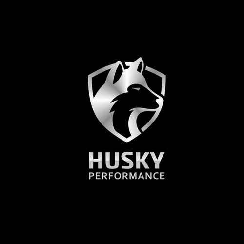 Bold logo for Husky Performance