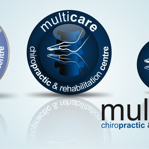 Chiropractic Logo for multiple usages (Business Cards and Signs)