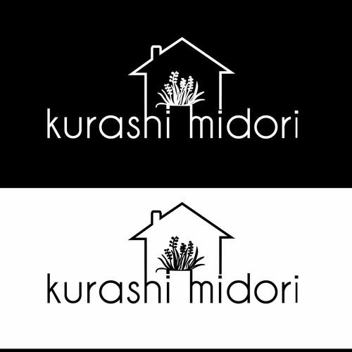 logo concept for kurashi midori