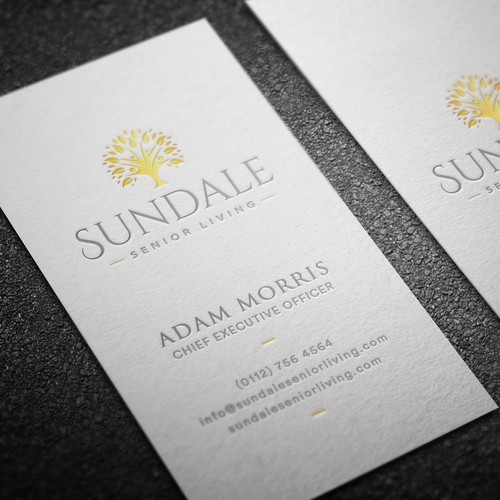 Premium Business Card Design for SUNDALE