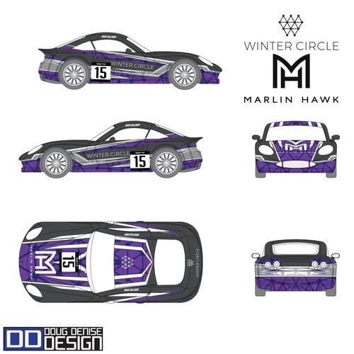 Marlin Hawk/Winter Circle Ginetta G40 GRDC Race Car Concept