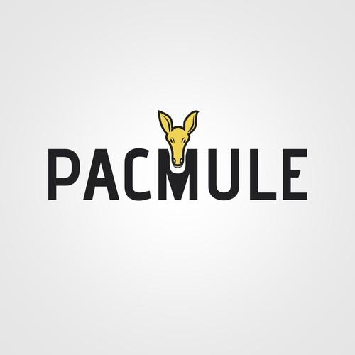 Minimal logo concept for Pacmule