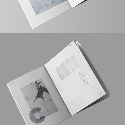 Clean Minimal brochure
