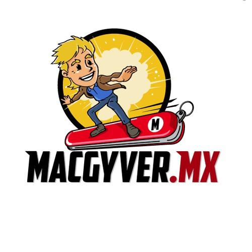 Macgyver.mx logo