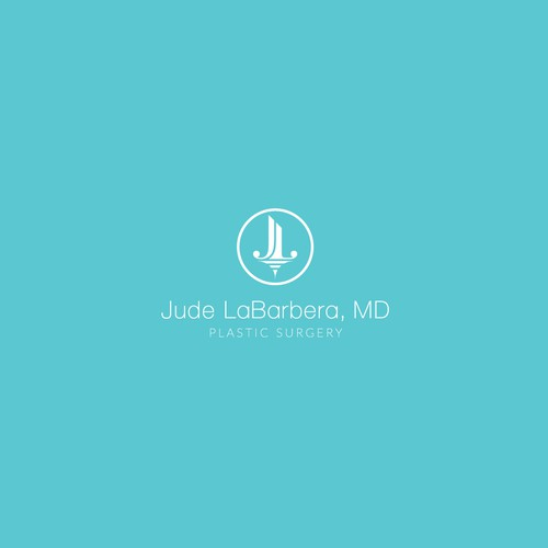 Modern logo for a young plastic surgeon