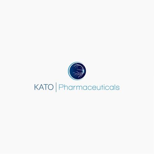 KATO I Pharmaceuticals logo design