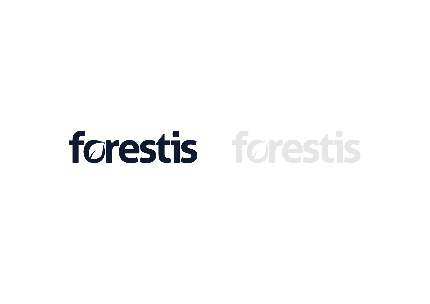 Create a modern logo for Forestis - natural products