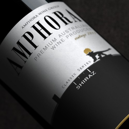 Wine Label for Amphora Wines