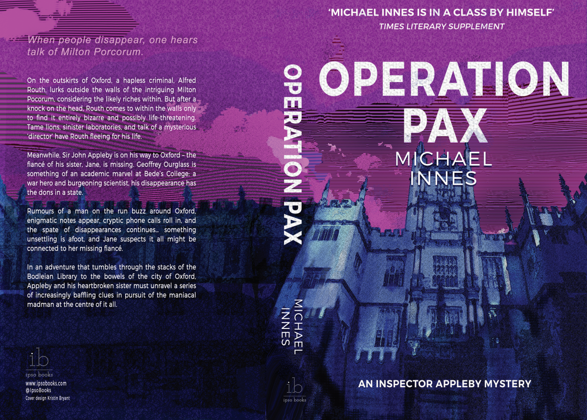 Paperback Cover - Operation Pax