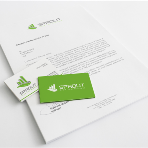 Create a Modern logo for Sprout