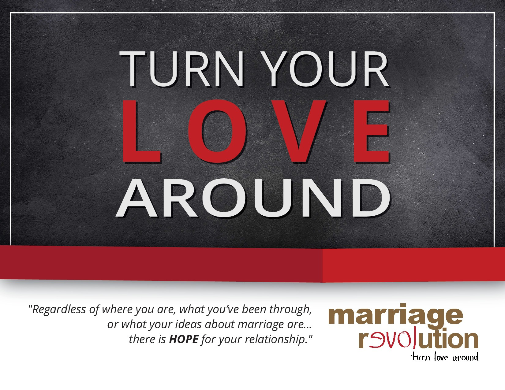 Create a Leaving Piece For a Religious Non-Profit Marriage Organization