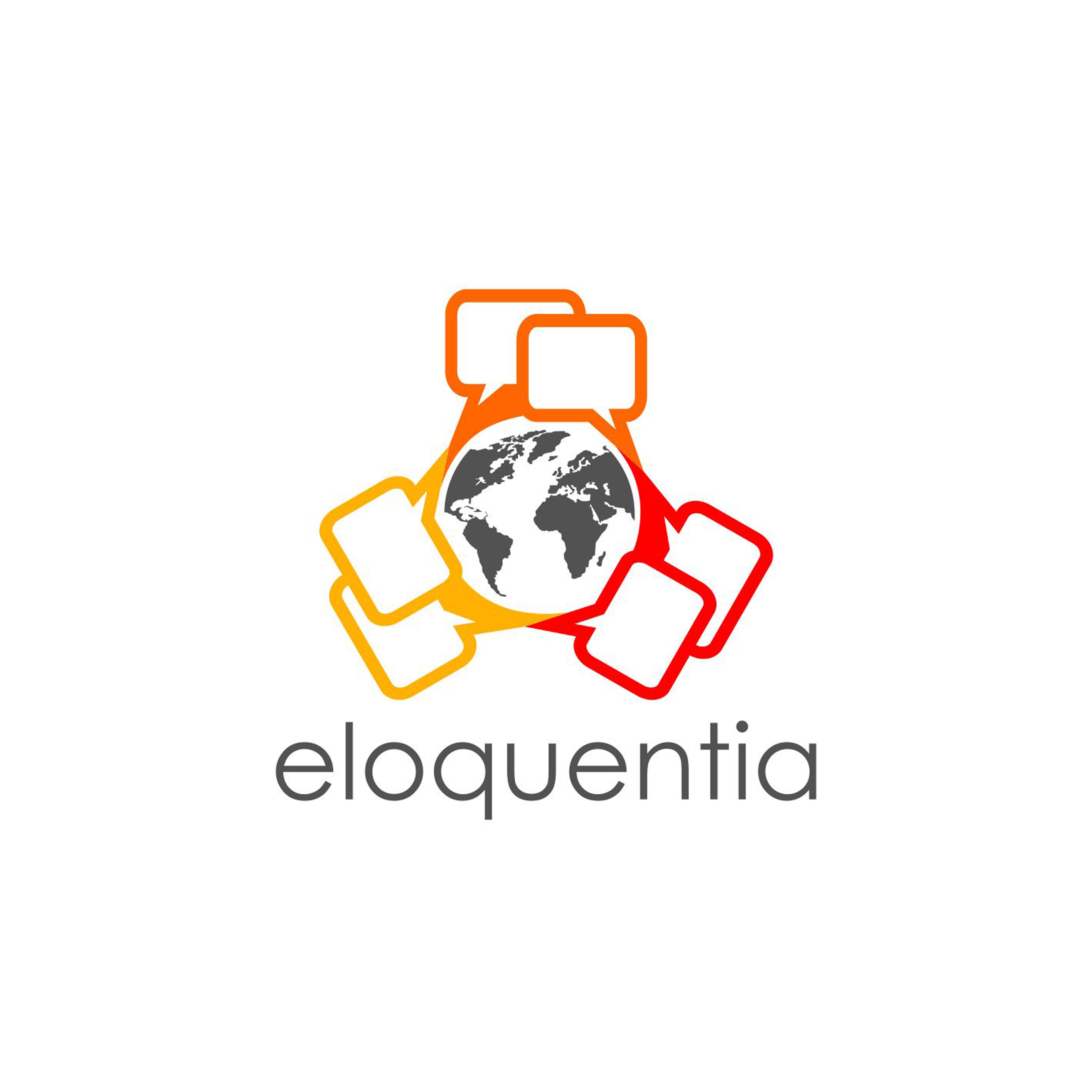 Design an elegant global logo for eloquentia