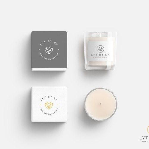 Logo and Website concept for Lyt by KP