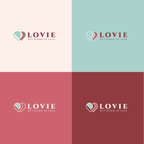 Bold logo concept for School of Love