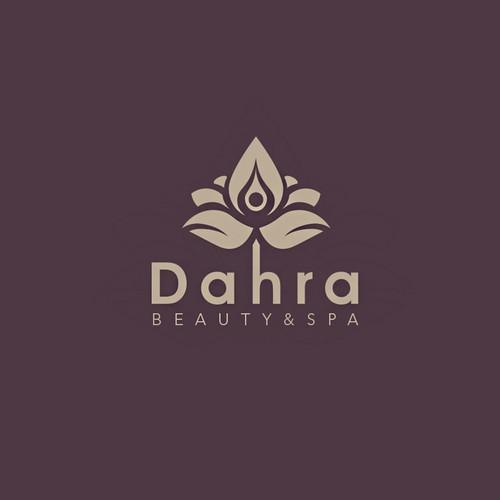 Dahra Spa Logo Concept