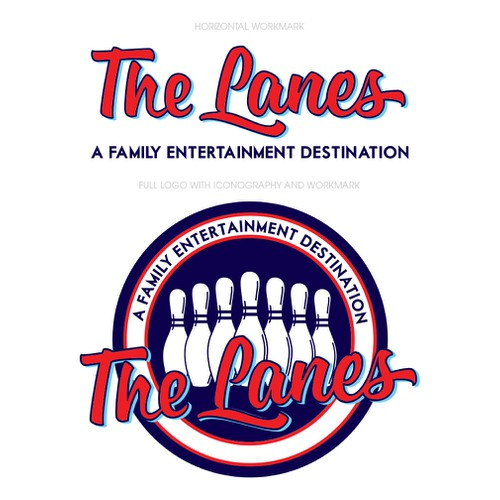 Logo Identity for The Lanes