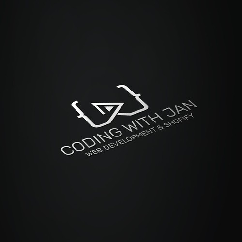 Coding logo for youtube channel