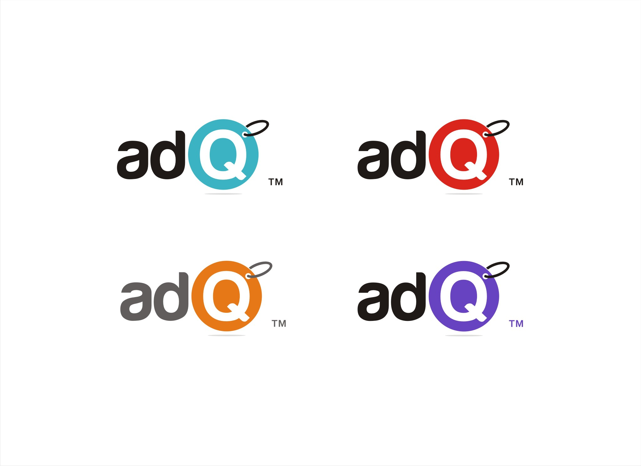 Create a logo for digital advertising analytics company AdQ