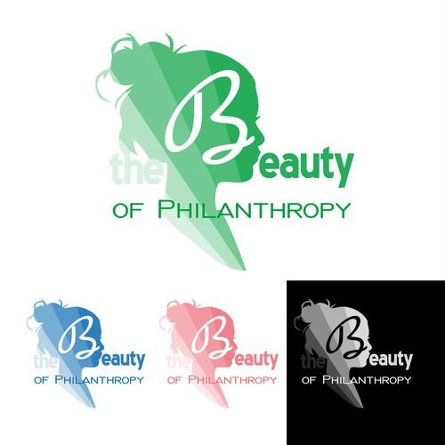 Elegant logo for philanthropic or artistic purposes.