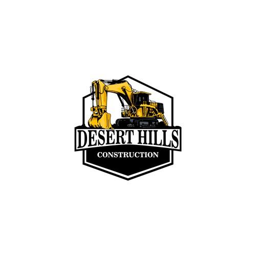 construction logo emblem