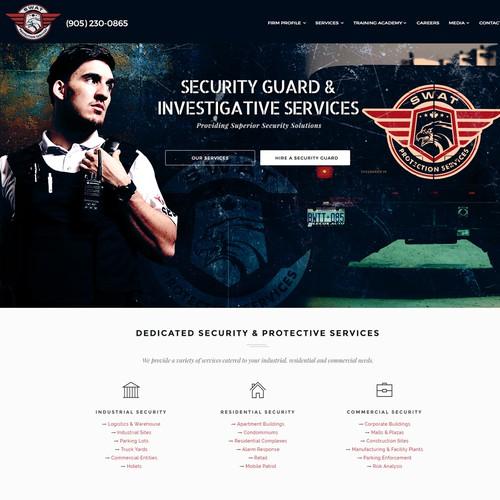 Webpage header