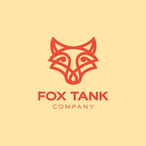 Bold logo for Fox Tank