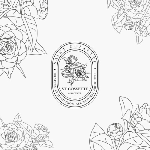 Logo for a luxury skincare brand