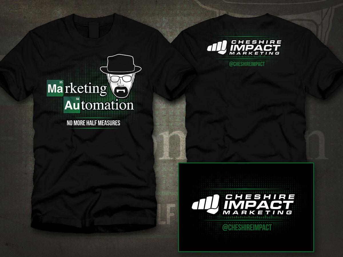 Breaking Bad Gangsta Themed Tech Shirt