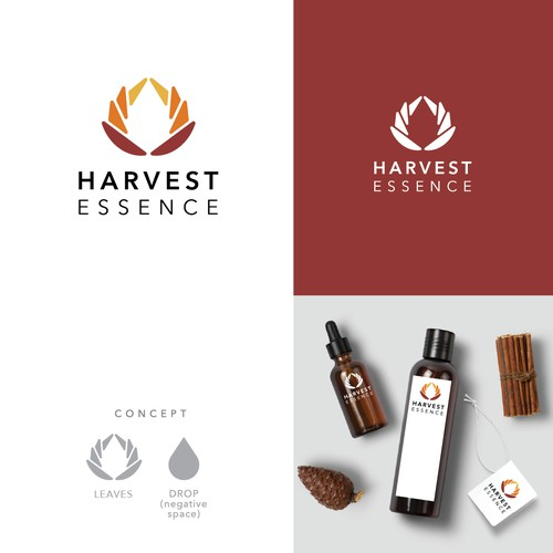 Logo for essential oil brand