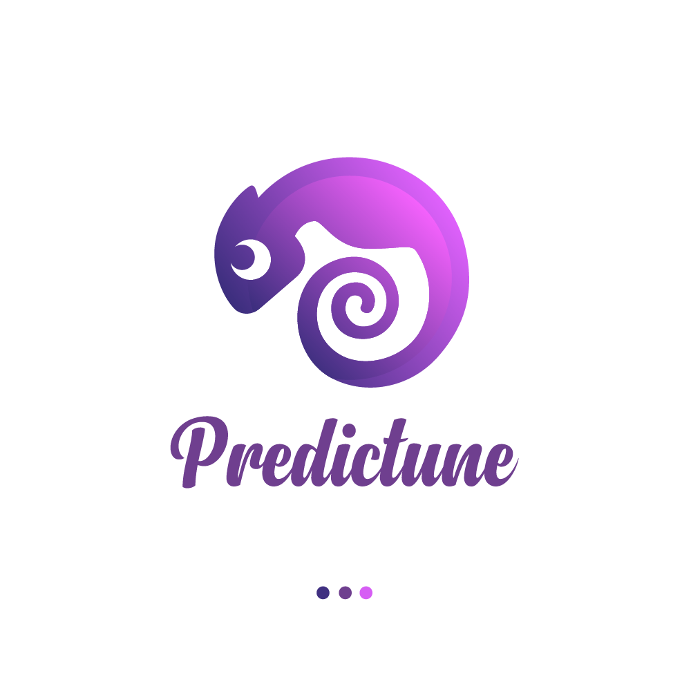 Predictune looks for an handwriting-style logo for its AI-based radio app