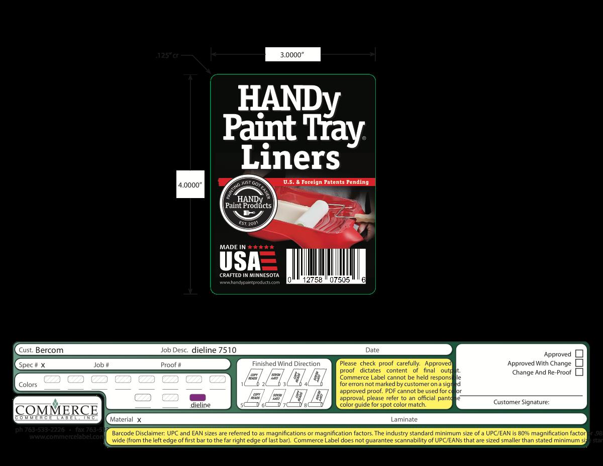 HANDy Paint 3 labels