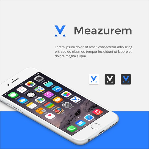 M letter logo app