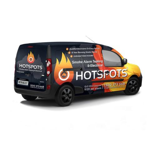 Van Wrap for Australian Smoke Alarm Company