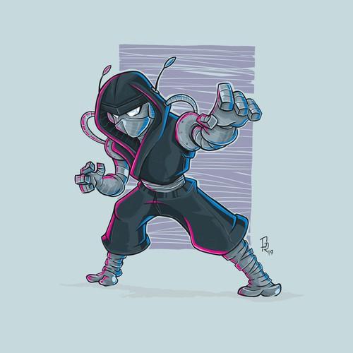 robo ninja warrior character