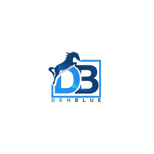 Concept logo for DentBlue Company