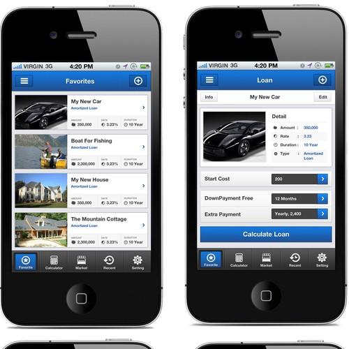 App Design for a World Wide Loan App