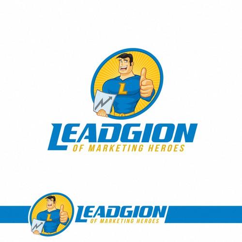 Marketing logo design.
