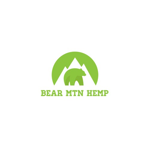 Logo Design for Bear Mtn Hemp