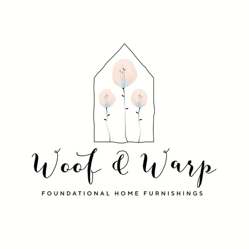 Logo design for a high quality home decor products.