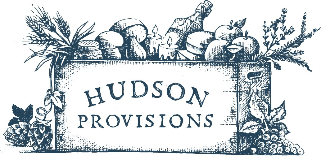 Logo for Hudson Provisions - Hand Drawn Look