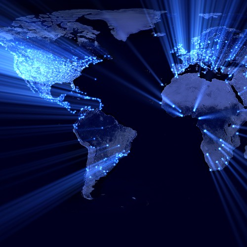 global coverage jn earth map